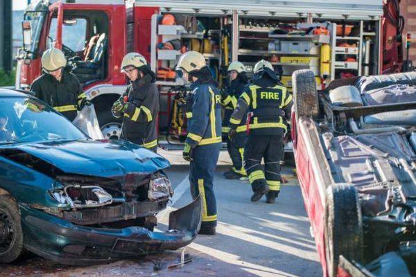 Traffic fatalities in 2020
